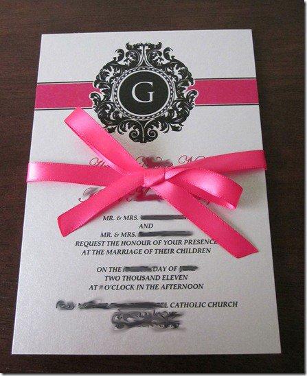 Self Print Wedding Invitations