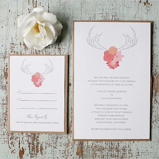 Self Printable Wedding Invitations