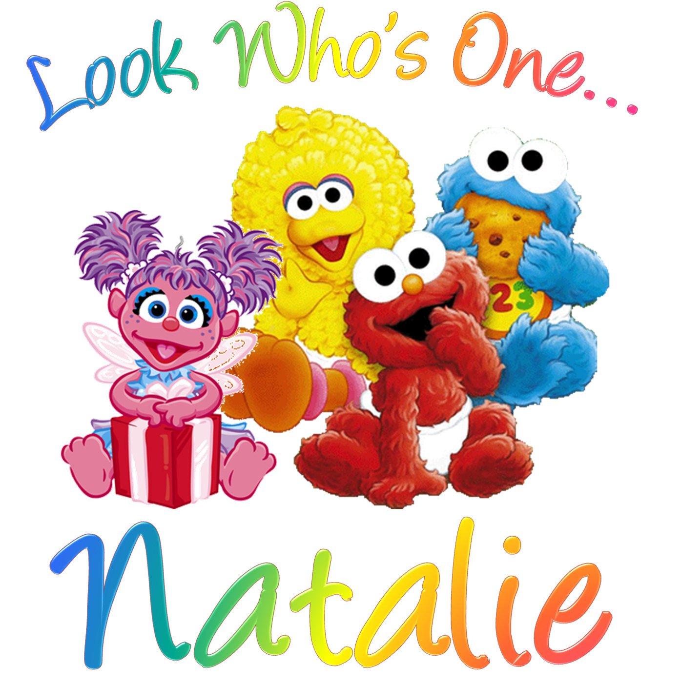 Sesame Street 1st Birthday Invitations 1395 X 1404
