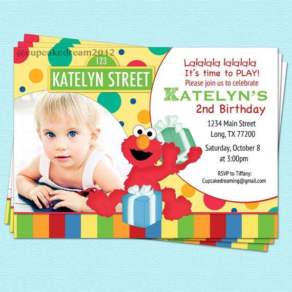 Sesame Street Invitations Printable