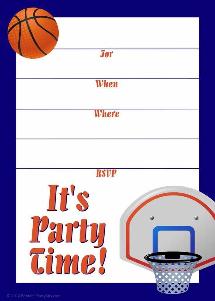 Sharks Party Invitation Templates