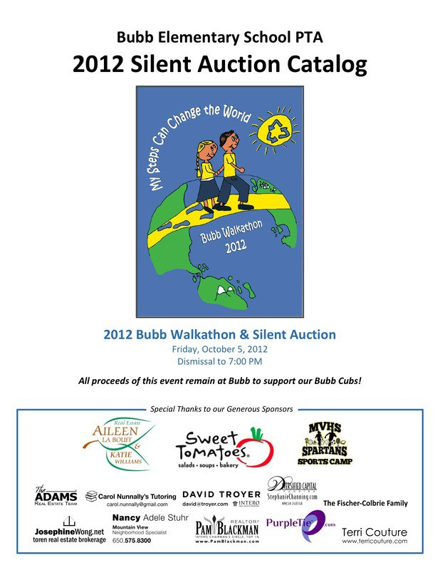 Silent Auction Invitation Sample