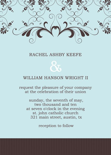 Simple Party Invitation Templates