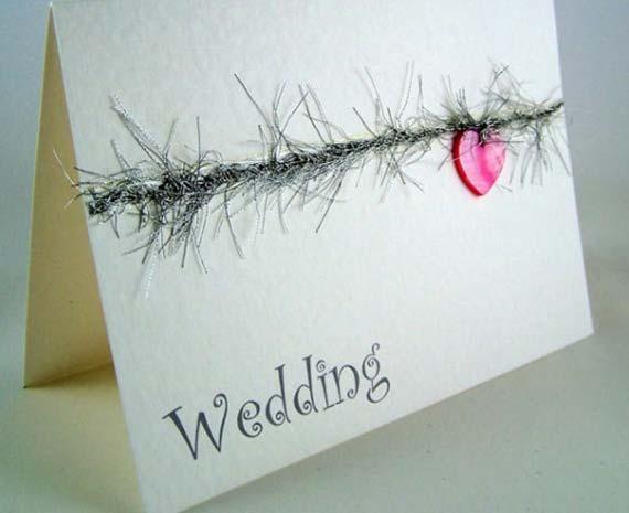 Simple Wedding Invitation Cards