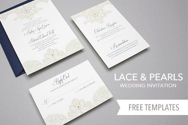 Simple Wedding Invitation Templates Free Download