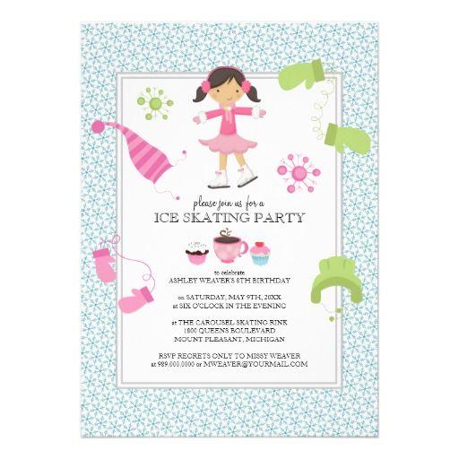 Skating Party Invitation Link