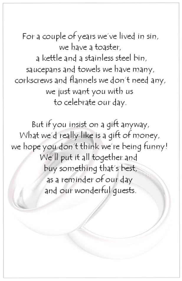 Small Poems For Wedding Invitations