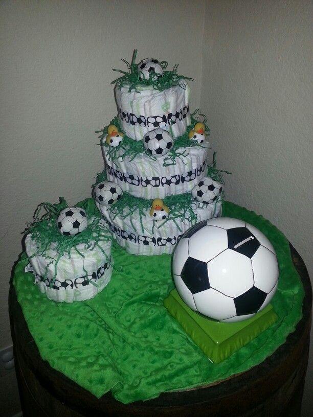 Soccer Ball Baby Shower Invitations