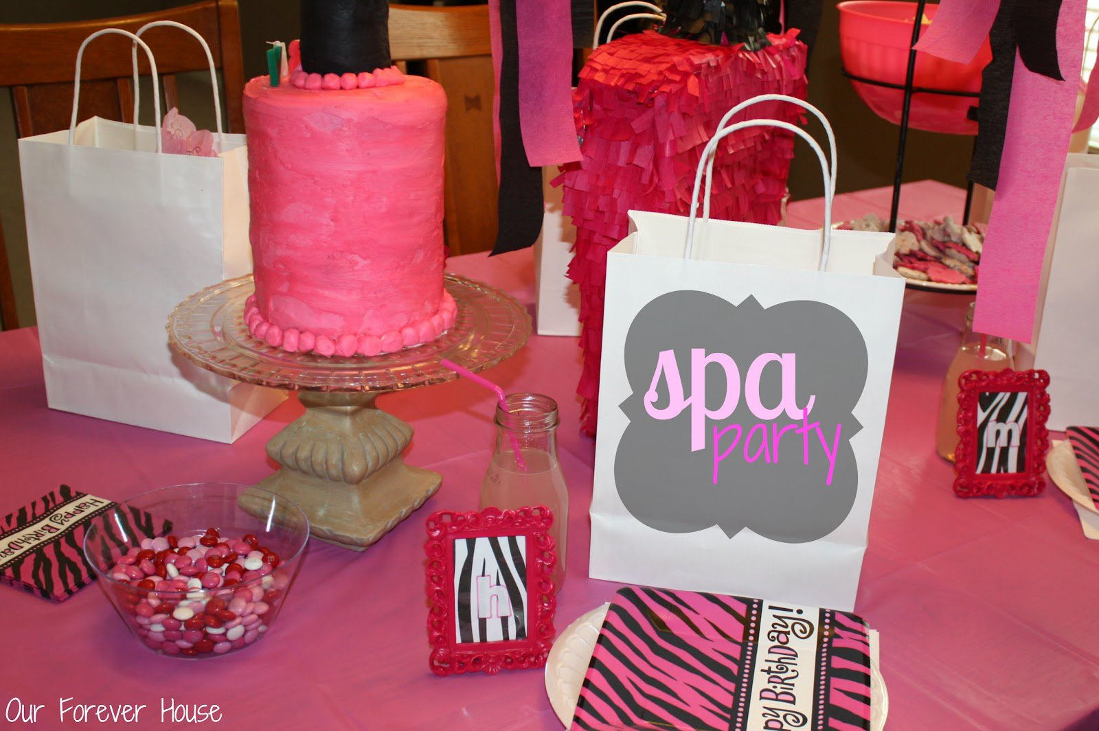 Spa Birthday Party Invitations Ideas