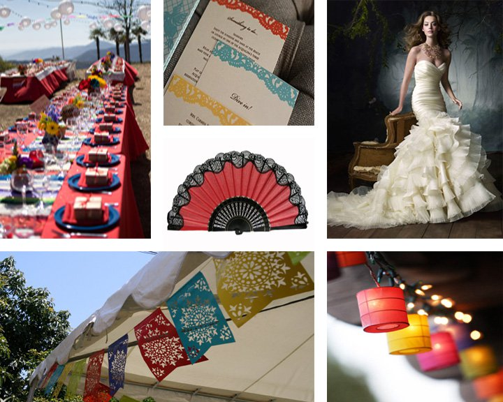 Spanish-inspired Wedding Invitations