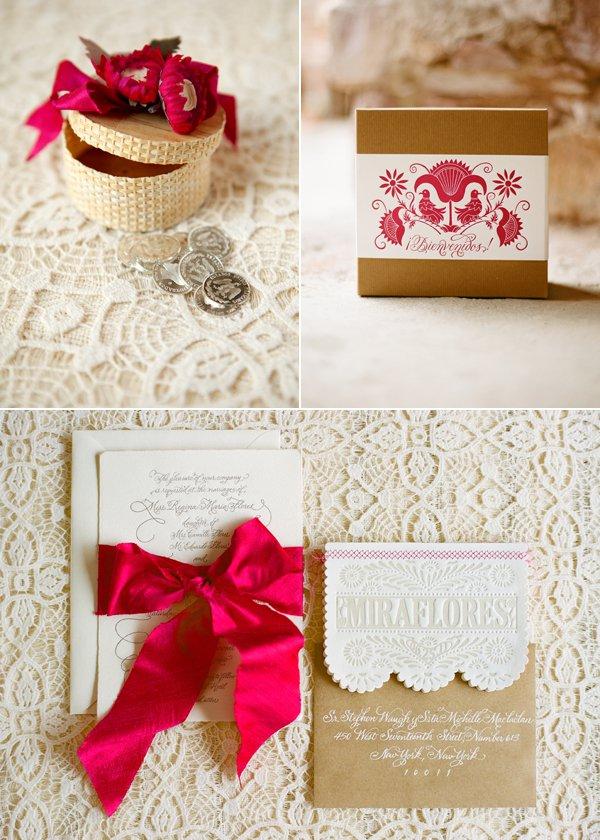 Spanish Inspired Wedding Invitations