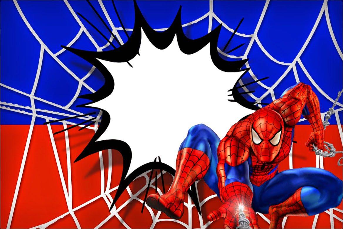 Spider-man Birthday Invitations Free Printable