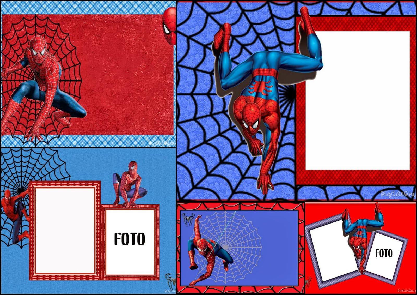 Spiderman Party Invitations Printable