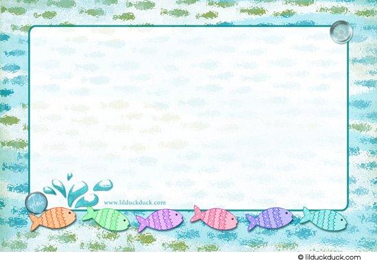 Splish Splash Birthday Invitations Teen