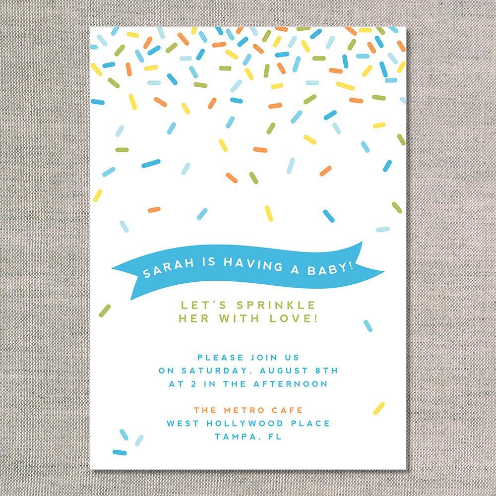 Baby Sprinkle Invitation Templates Free