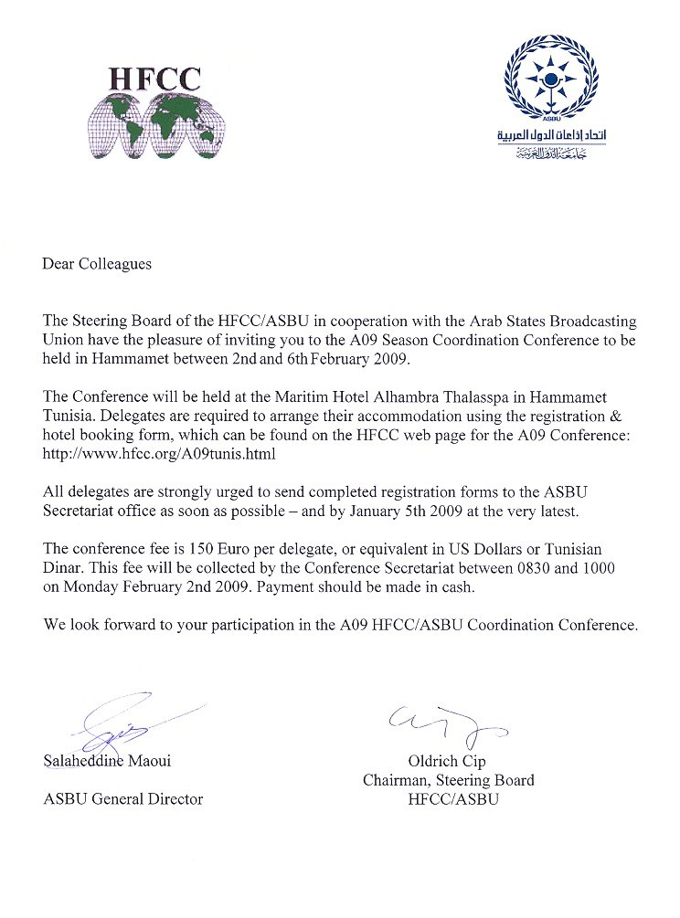 Staff Meeting Invitation Letter