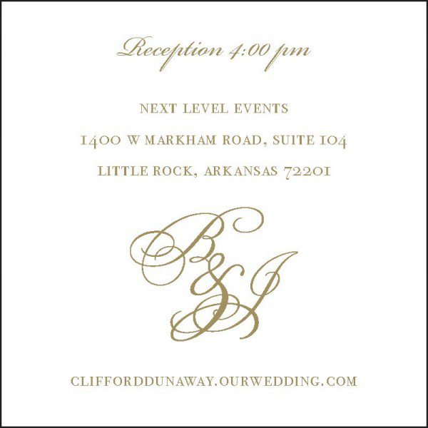 Standard Wedding Invitation Wording