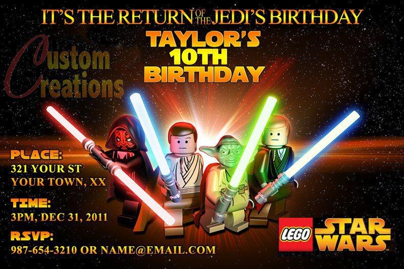 Star Wars Invitations