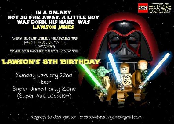 Star Wars Invitations Walmart