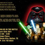 Star Wars Lego Invitations Printable Free