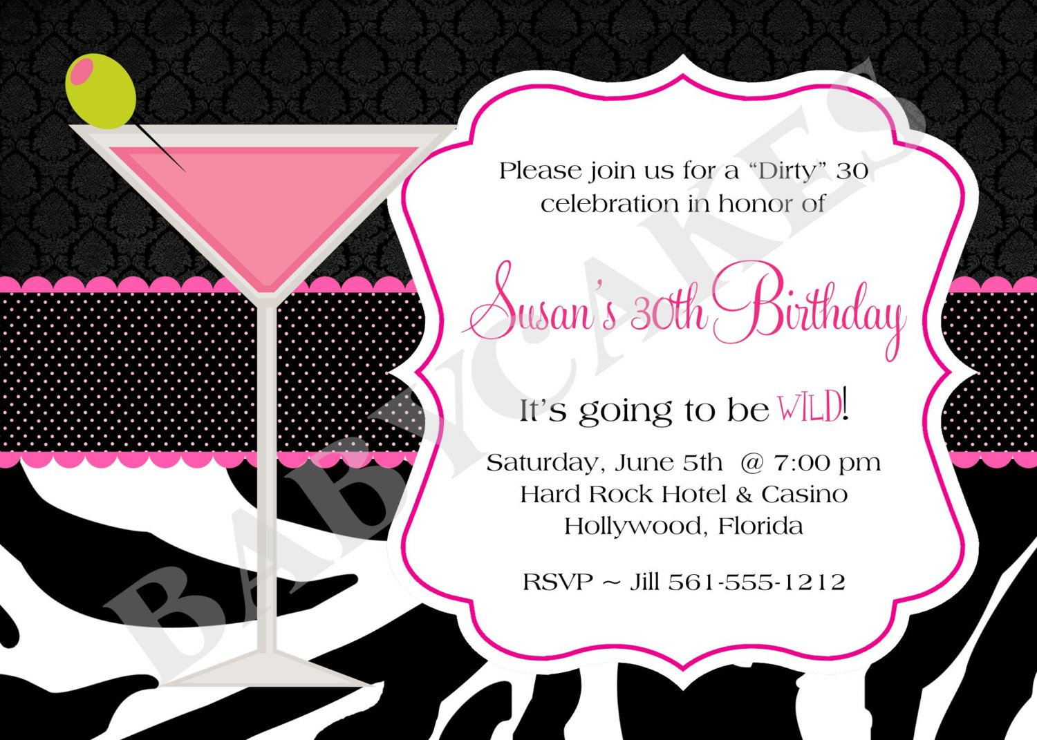 Surprise Th Birthday Invitation Wording - Birthday invitations wording for 30th