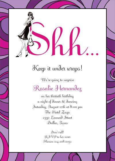 Surprise Birthday Invitations Wording For Adults