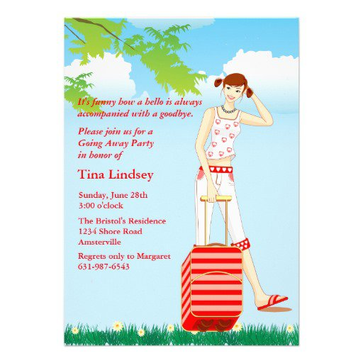 Surprise Going Away Party Invitations Wording