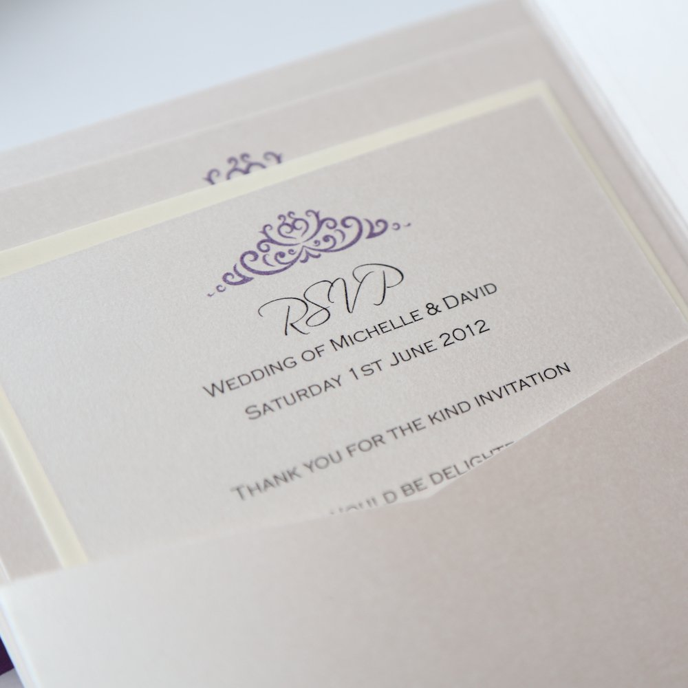 Swarovski Wedding Invitations