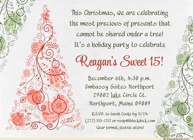 Sweet 15 Invitations Ideas