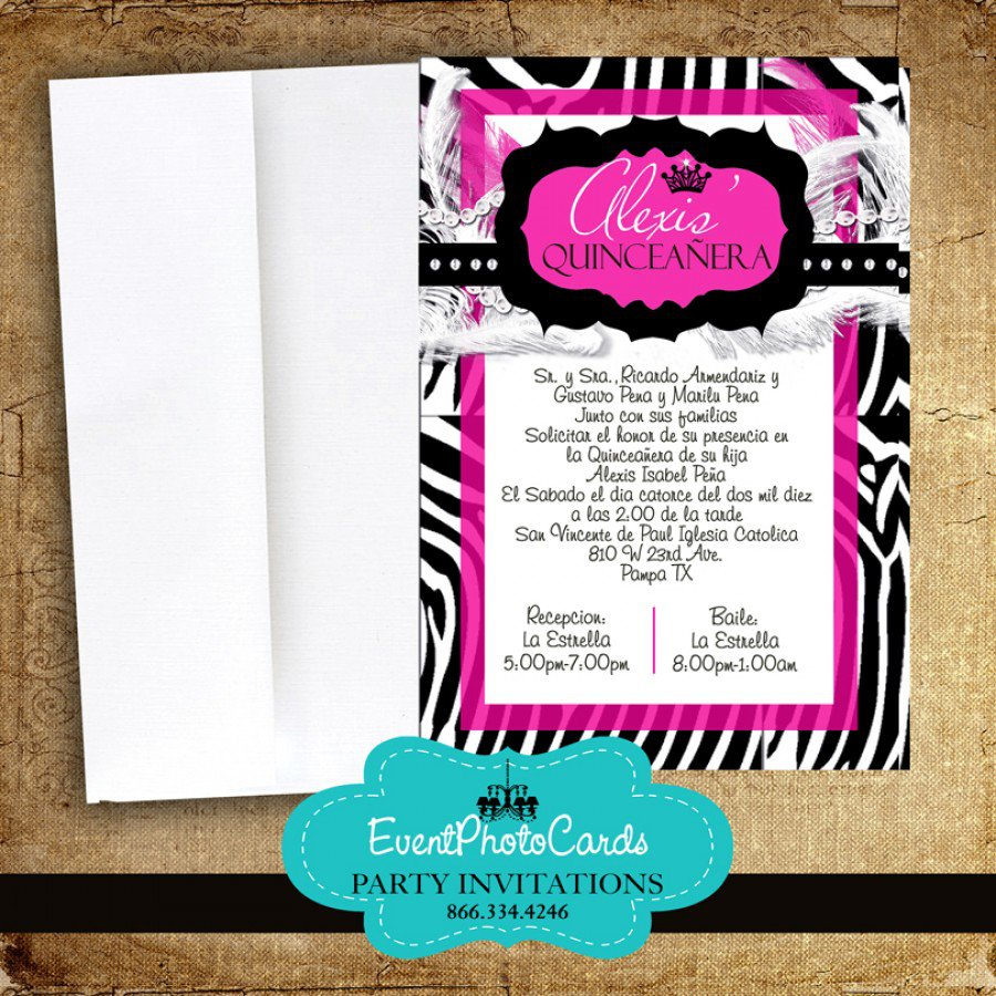 Sweet Fifteen Invitations Wording