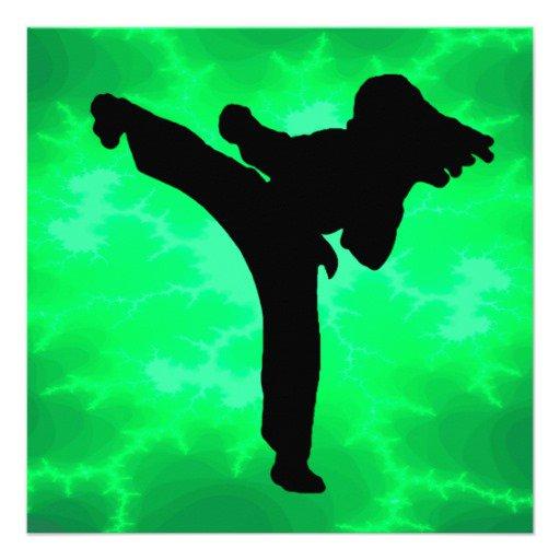 Taekwondo Birthday Party Invitations