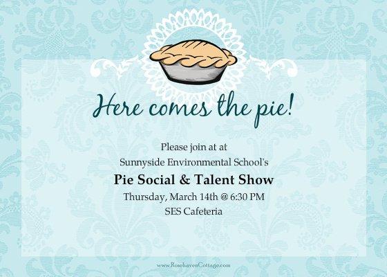 Talent Show Invitation