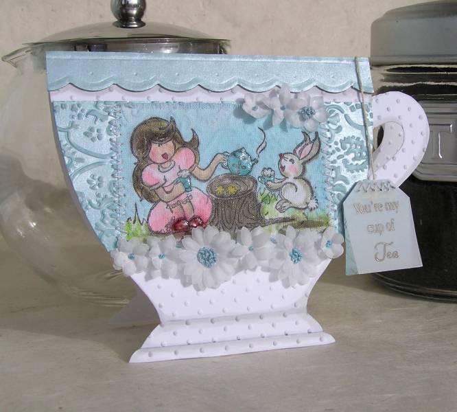 Teacup Invitation Templates