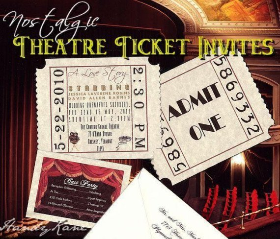 Theater Invitations