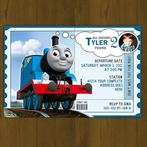 Thomas Train Birthday Card Printable