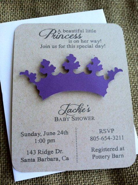 Tiara Invitation Templates