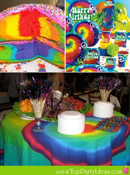 Tie Dye Party Decorations Pinterest