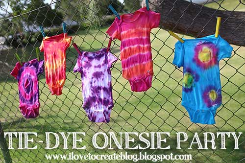 Tie Dye Party Decorations Uk
