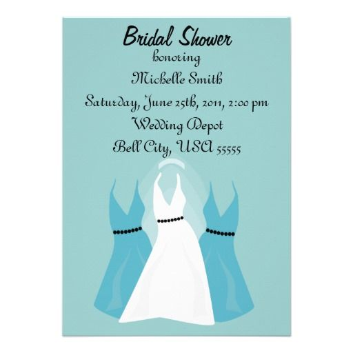 Tiffany Blue Bachelorette Party Invitations