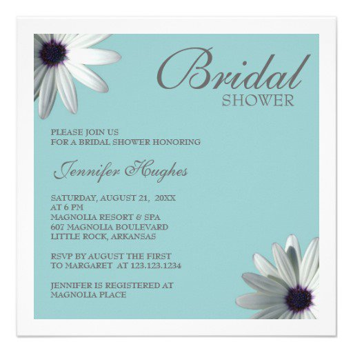 Tiffany Blue Invitation Paper