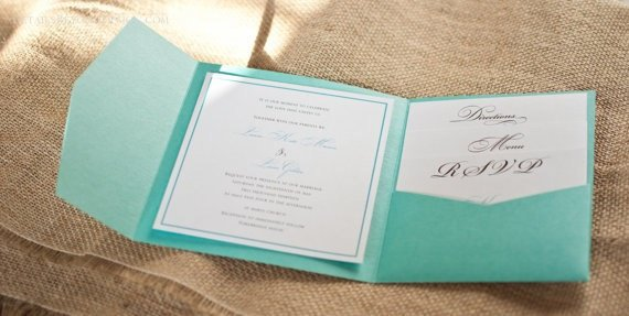 Tiffany Blue Invitations Pinterest