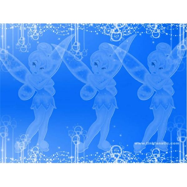 Tinkerbell Invitation Backgrounds