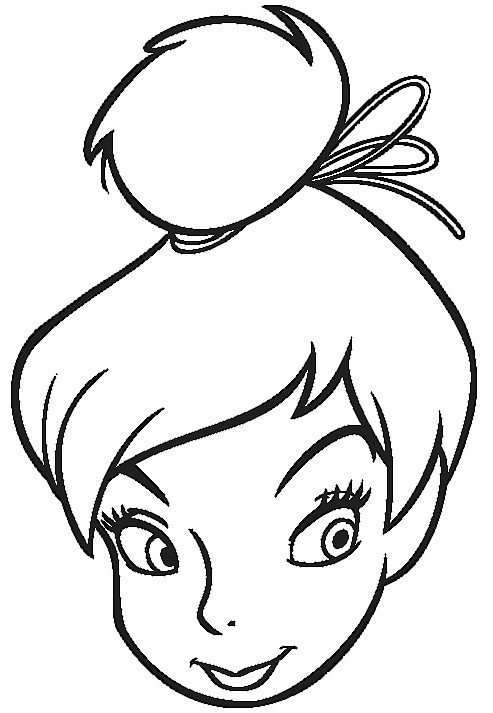 Tinkerbell Pictures To Print And Colour