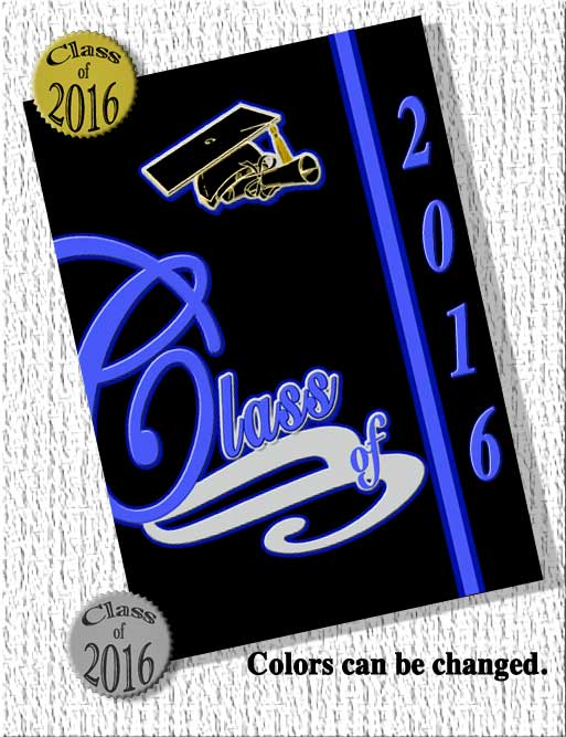 Traditional High School Graduation Announcements 2014
