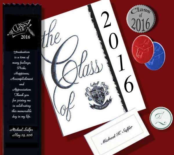 Traditional High School Graduation Invitation Wording