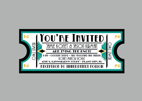 Travel Wedding Invitations Template
