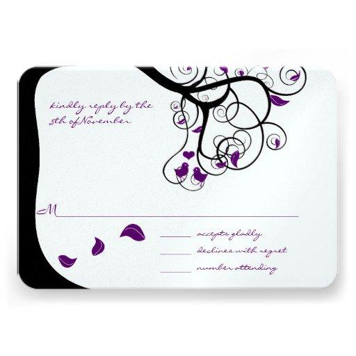 Tree Wedding Invitation Templates