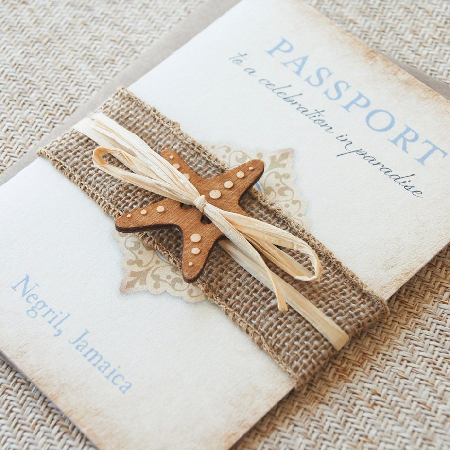 Unique Destination Wedding Invitation Ideas