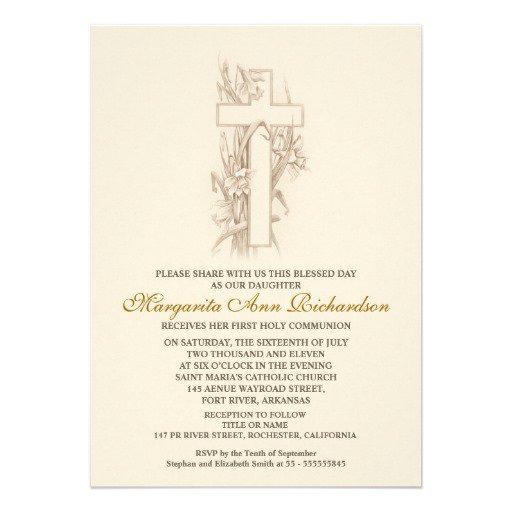 Unique First Communion Invitations