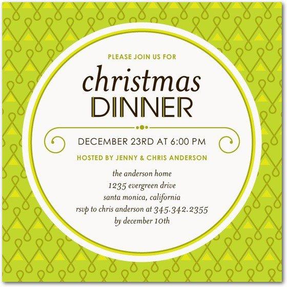 Unique Invitation Ideas Christmas
